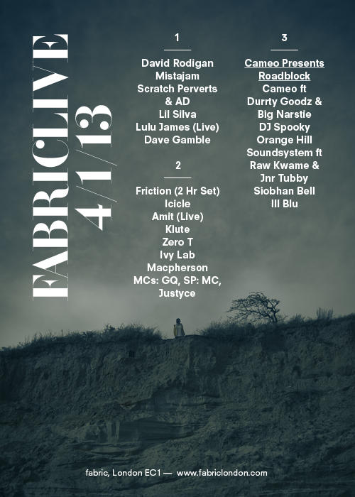 fabriclive 4th jan