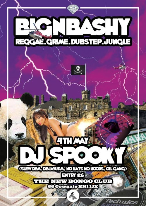 big n bashy @ bongo club 4th may