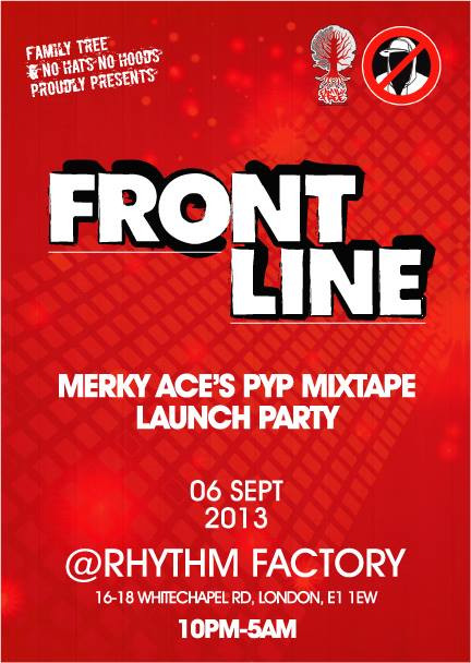 Frontline @ Rhythm Factory, London - 6th Sept 2013 [Front]