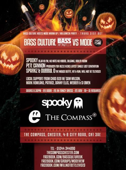 Bass Culture vs Mode @ Compass, Chester - 31st Oct 2013