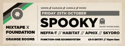 Mix Tape x Foundation @ Orange Rooms BM - 25th Oct 2013