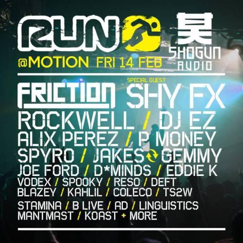 Run vs Shogun Audio @ Motion, Bristol 14 Feb 2014 [2]