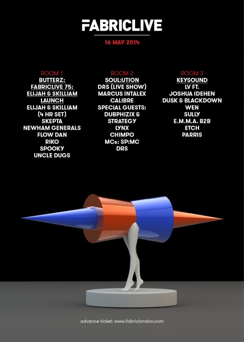 FabricLive @ Fabric, LDN - Fri 16 May 2014