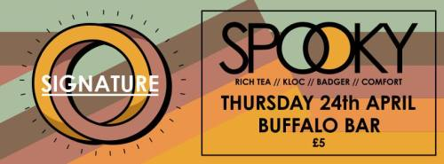 Signature @ Buffalo Bar, Cardiff - Thurs 24 April 2014