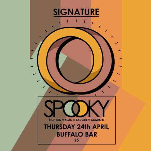 Signature @ Buffalo, Cardiff Thurs 24 April 2014