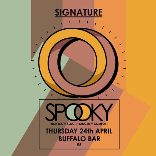 Signature @ Buffalo, Cardiff Thurs 24 April 2014