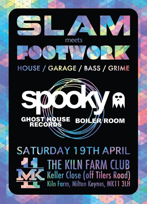 Slam v Footwork @ Kiln Farm  Club, MK - Sat 19 April 2014