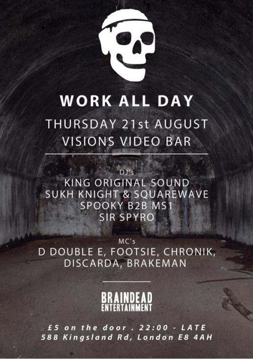 work all day 21st aug