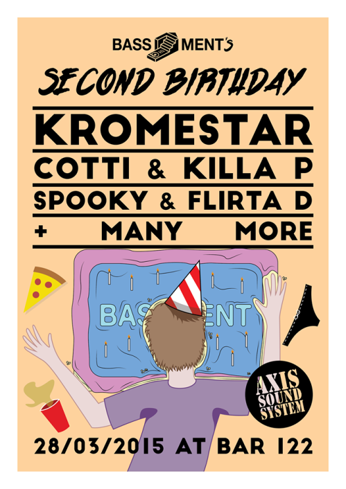 BASSment 2nd Birthday Huddersfield 28 March