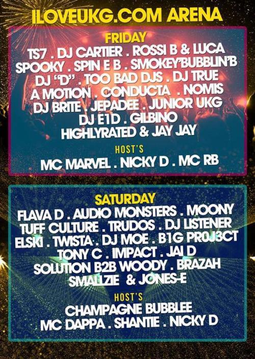 UKG Fest LDN 3&4 April