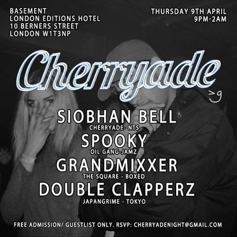 cherryade 9 april