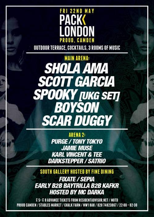 pack london 22 may